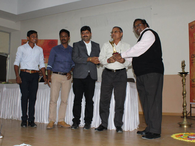 Dabhasa received 1st prize in CSR Vidfest category