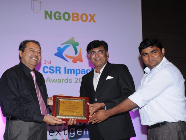 Impact Awards was organized as a co-event of India CSR Summit 2015
